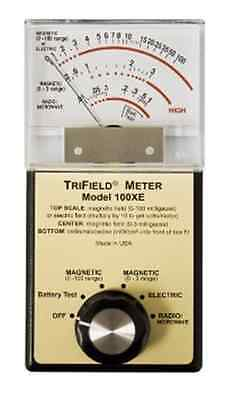 Hand Held Magnetic Electric Microwave Tri Axis TriField EMF Meter