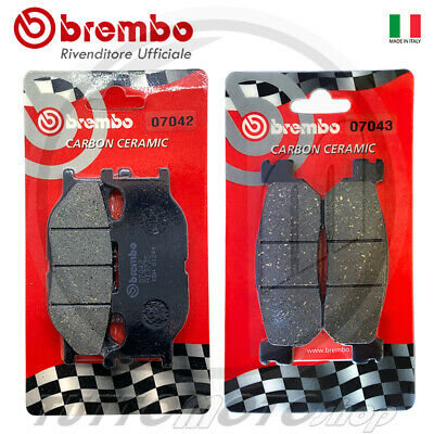 Pastiglie Freno Brembo Yamaha Majesty 250 2000 2001 2002 2003 2004 2005 Ant Post