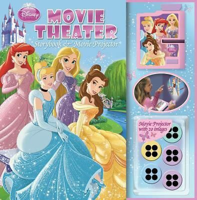 Disney Princess Movie Theater Storybook [With Movie Projector] by Hardcover Book
