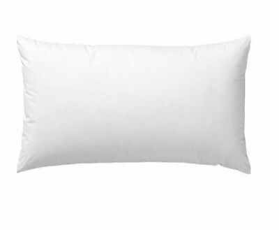Standard or King Microfibre Blend Cotton Pillows Satin  Australian Made Microgel