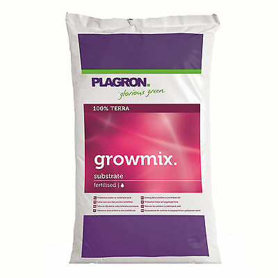 Plagron Grow Mix 50 L Erde Anbauerde + Perlit Grow ESL NDL Nährmedium