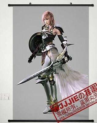 """Cosplay Home Decor Poster Wall Scroll 23.6""""x35.4"""" Anime Final Fantasy"""
