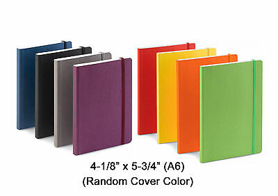 """Fabriano EcoQua Banded Journal, Dot Grid, 4.1"""" x 5.8"""" (A6)"""