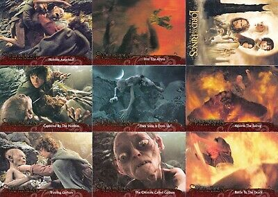 Lord Of The Rings The Two Towers Movie Update 2003 Topps Base Card Set Of 72