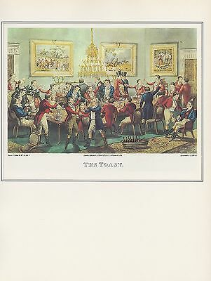 """1974 Vintage COACHING /""""THE NEW LONDON ROYAL MAIL/"""" CARRIERS Art Print Lithograph"""