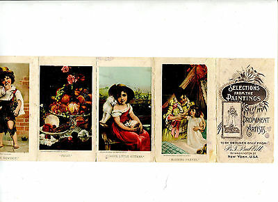 Vintage Advertising Flyer BT BABBITT Soap Premium Paintings of Prominent Artists