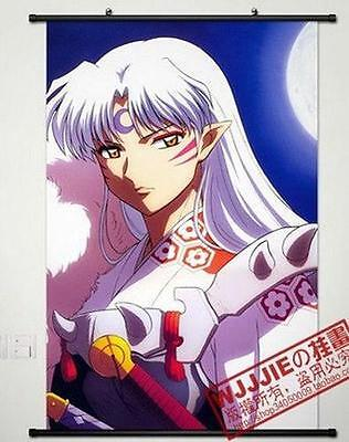 "Home Decor Poster Wall Scroll 23.6""x35.9"" GB26 Cosplay Anime InuYasha"