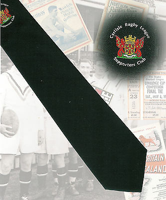 Carlisle RL Supporters Club - 8cm RUGBY LEAGUE TIE