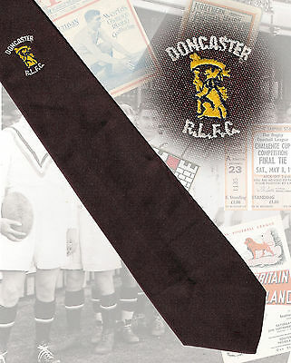 Doncaster RLFC players tie, Stuart Smith - 8cm RUGBY LEAGUE TIE