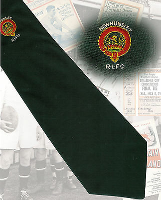 New Hunslet - Stuart Smith  - 10.5cm RUGBY LEAGUE TIE
