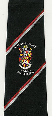 Travellers Saints ARLFC, Featherstone players tie - 8.5cm RUGBY LEAGUE TIE