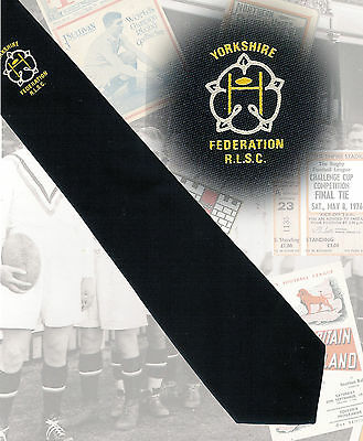 Yorkshire Federation RLSC,  - 7.5cm RUGBY LEAGUE TIE