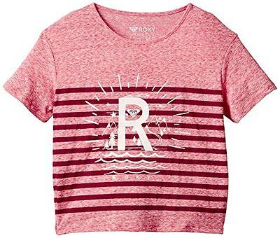 Roxy Rgfashion T-Shirt de sport Fille Bright Pink FR : 8 ans Taille NEUF
