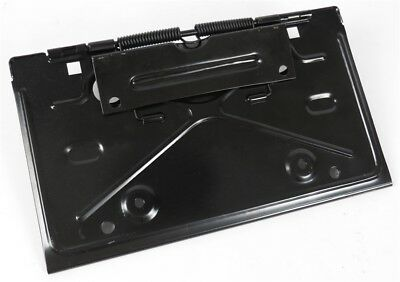 68-79 GM (see list) Rear License Plate Bracket Holder Fuel Gas Door  Golden Star