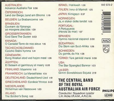 Central Band Of The Royal Australian Air Force - National Anthems CD (Philips)