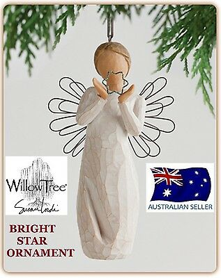 BRIGHT STAR ANGEL ORNAMENT Demdaco Willow Tree Figurine By Susan Lordi NEW