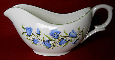 CROWN STAFFORDSHIRE china BLUEBELL pattern Mini CREAMER cream pitcher JUG - 2""