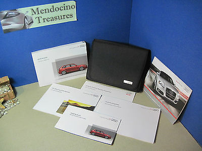 "2010 Audi A3 Owners Manual Package And Case ""nice With Free Us Shipping"" Buy Oem"