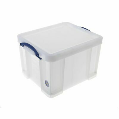 Really Useful Plastic Storage Box 35 Litre Extra Strong