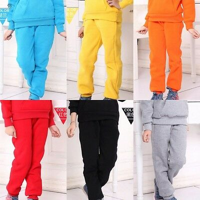 7 Colors Children Kids Loose Casual Pants Boys Girl Fashion Track Sports Trouser