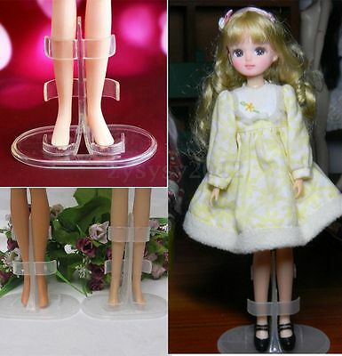 2PCS Stand Support Accessories Mannequin Model Holder For Barbie Doll Display