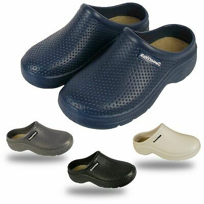 Mens Womens Sweet Walk Garden Work Hospital Soft Insole Beach Mules Clogs Shoes