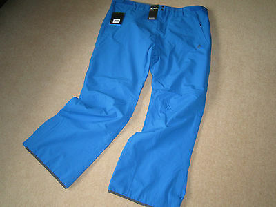 Brand New Mens D2B Mogul Technical Ski Trousers Size Xxl Skiydiver Blue