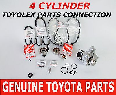 Toyota Timing Belt Kit Water Pump 2.0 2.2 Oem Factory Genuine Parts