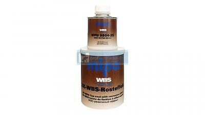 Mipa 2K WBS Rust effect finish Rust paint (1 Litres incl. Lacque)