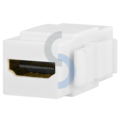 HDMI Snap-in Keystone Jack Coupler for Wallplate HDMI Female to Female