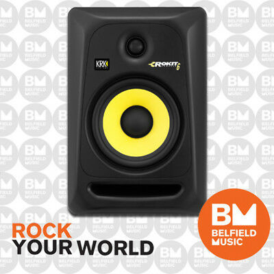 KRK Rokit 6 G3 Powered Active Monitor Speaker 100w Generation 3 73 Watts 6""