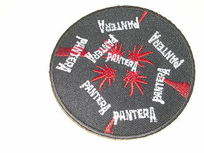 Vintage Rock N Roll Pantera Patch 3  Inches Iron On