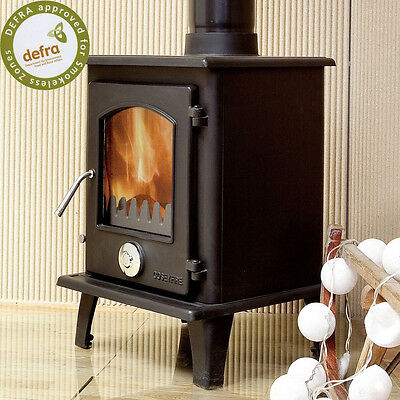 DEFRA APPROVED Petit Multifuel Woodburning Stove Stoves 5kw SECONDARY BURN