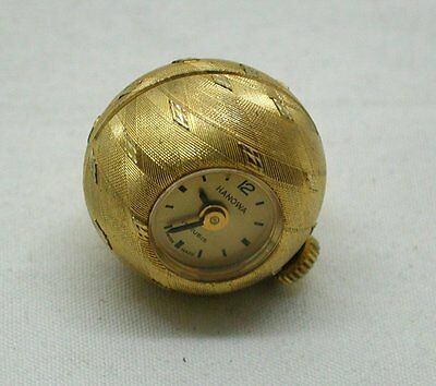 Vintage Rolled Gold Lovely Style Hanowa Pendant Watch
