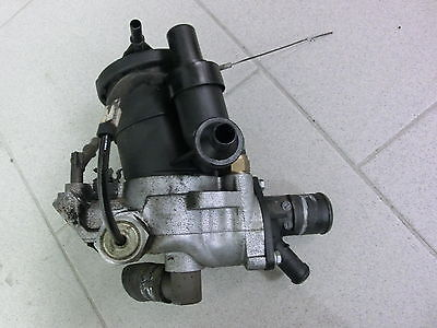 Peugeot 206 3T 51KW 1.9D Thermostat Flansch Thermostatgehäuse