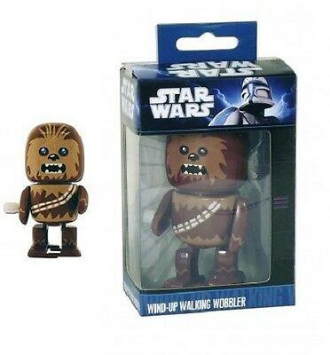 Star Wars * Official Wind-Up Walking Wobbler Toy * Chewbacca * New