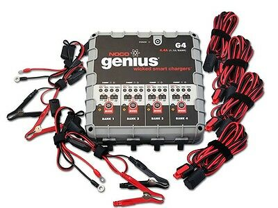 Noco Genius Automatic G4 Multiple Battery Charger 6V / 12V