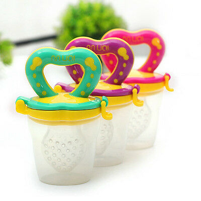 New Infant Food Pacifier Baby Dummy Soother Newborn Silicone Feeding Nipples
