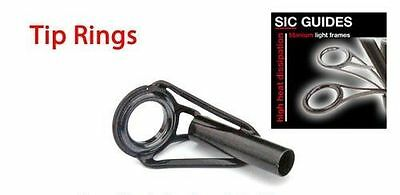 TIP / END ROD RING LINED SIC. 2 LEG TIP EYE- BPAT-Various sizes