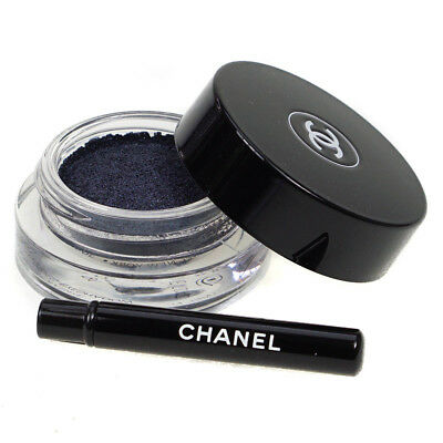 Chanel Illusion D'Ombre Long Wear Luminous Navy Blue Gel Eyeshadow 91 Apparition