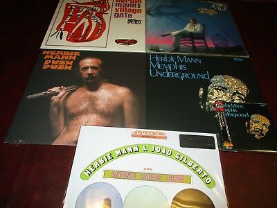 Herbie Mann Memphis Underground Collection Limited 24 Bit Japan Cd + 6 Vinyl Lp