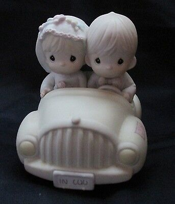 Enesco Precious Moments Figurine (Wishing You Roads Of Happiness) 1988