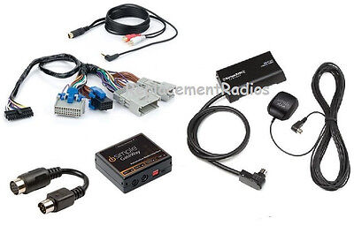 GM 03+ Sirius XM satellite radio car interface kit + 3.5mm aux audio input jack