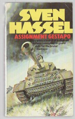 Assignment Gestapo, Hassel, Sven Paperback Book The Cheap Fast Free Post