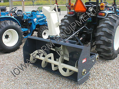 "GRAY Allied YC6010-4 60"" Tractor PTO Snow Blower:4BladeFan,S-Shoes:BESTBUY&BRAND"