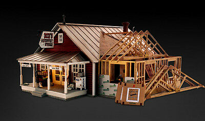 Woodland Scenics BR5845 O Country Store Expansion Structure Built-&-Ready