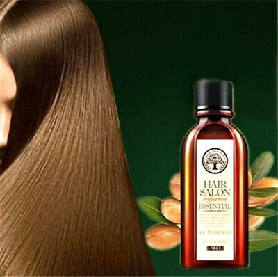 FD3333 60ml Argan Oil Hair Care Nourish Scalp Treatment Smooth Damage Dry Repai☆