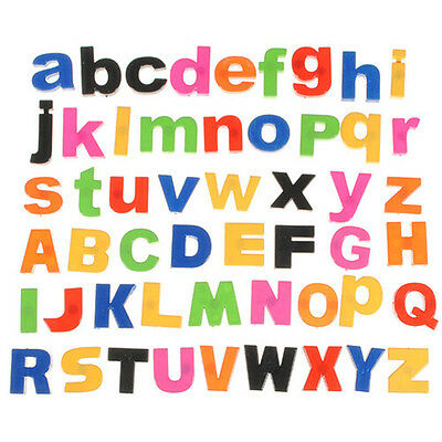 52 Lower/Upper Case ALPHABET LETTERS Magnetic Fridge Childrens Kids Learning TOY