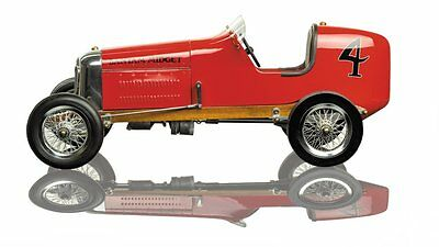 G639: Red Bantam Midget Speed Modelcar, Model Race Car Replica Model 1930