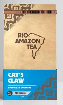 Rio Amazon, Cat's Claw Teabags 2000mg Teabags  (90)